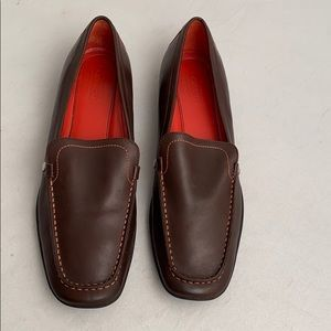 Coach brown Daisy A2407 loafer 11M